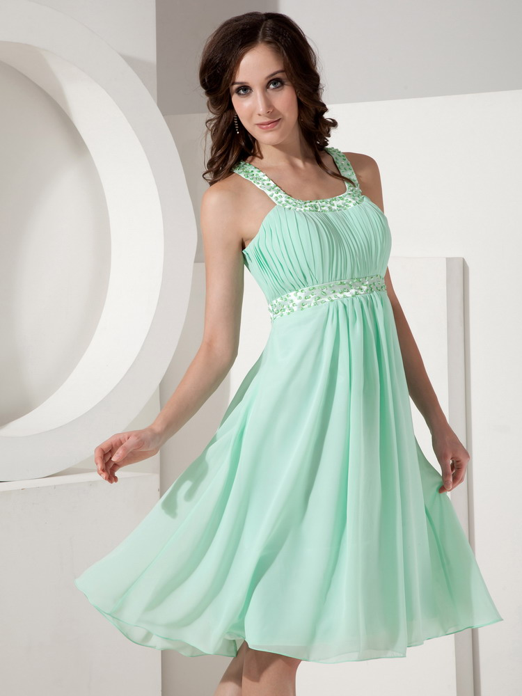 Apple Green Bridesmaid Dresses