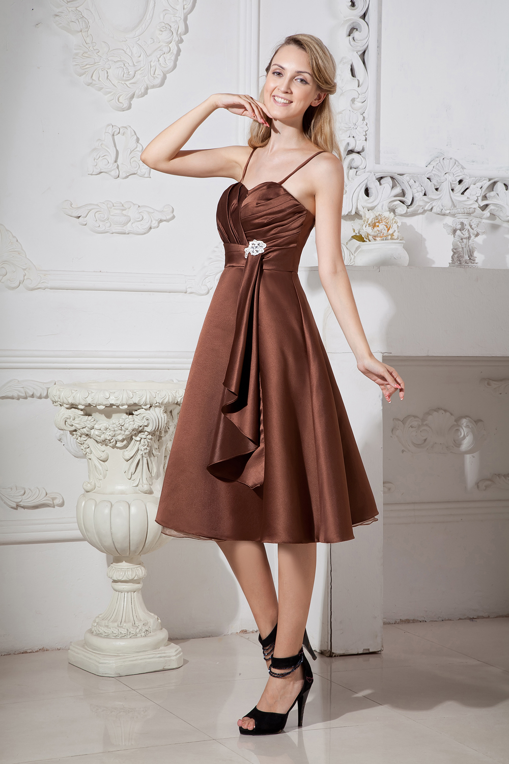 Brown Bridesmaid Dresses
