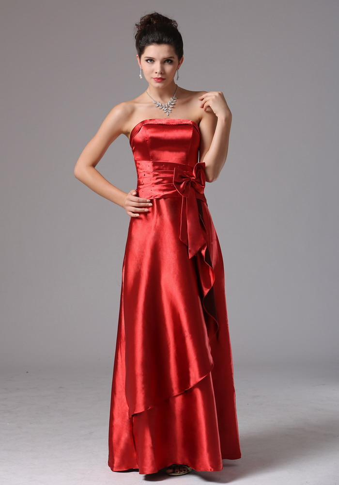 Rust Red Bridesmaid Dresses