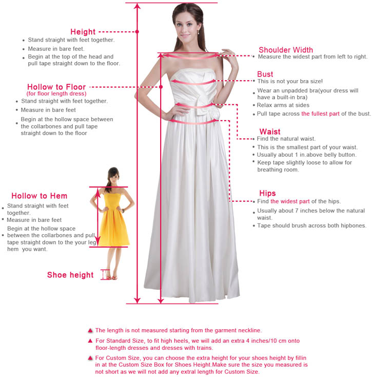 how to meausure dress for prom dress and wedding dress